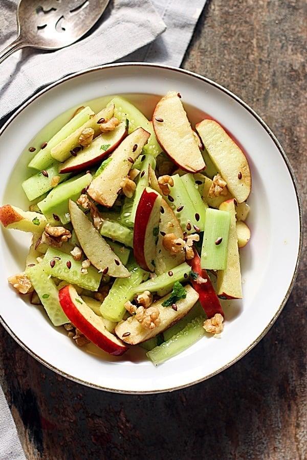 apple cucumber salad recipe