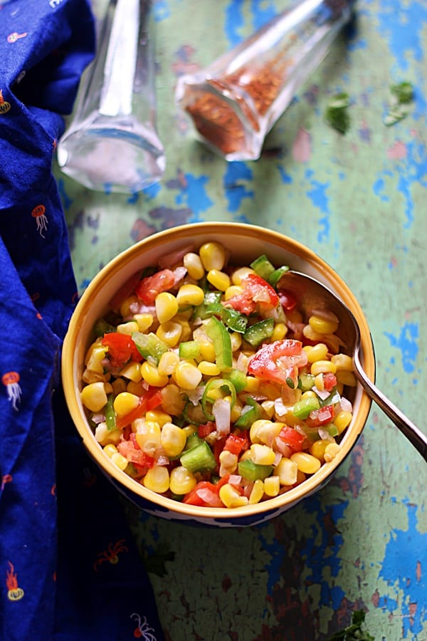 best sweet corn salsa