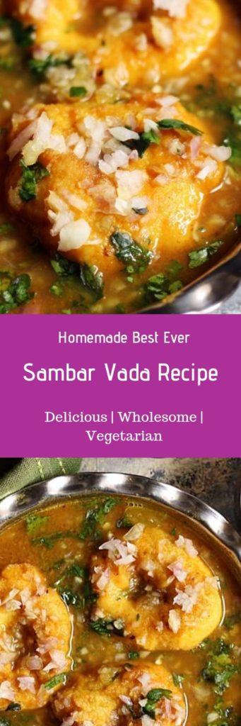 Sambar vada recipe