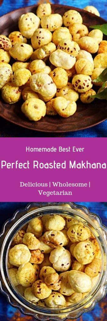 Roasted phool makhana recipe