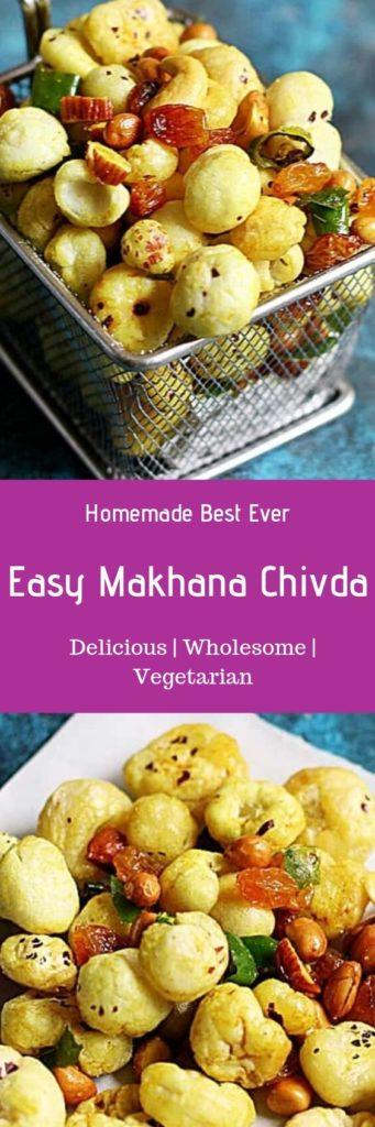 Makhna chivda recipe