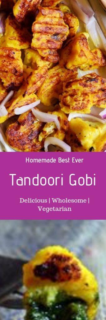 Tandoori gobi recipe