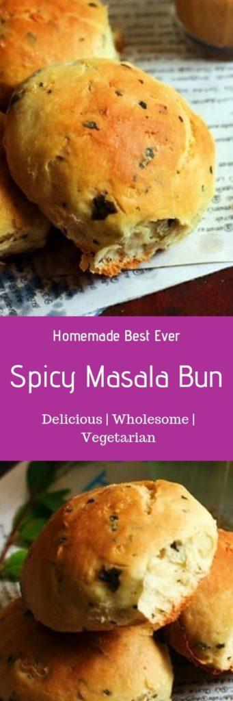 Spicy bun recipe