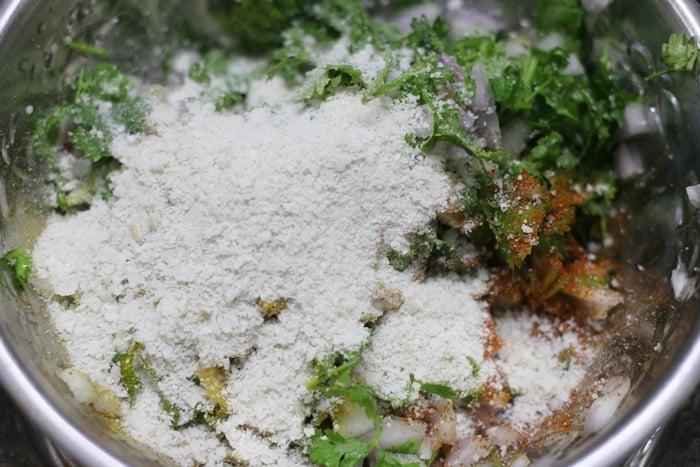 onion samosa filling