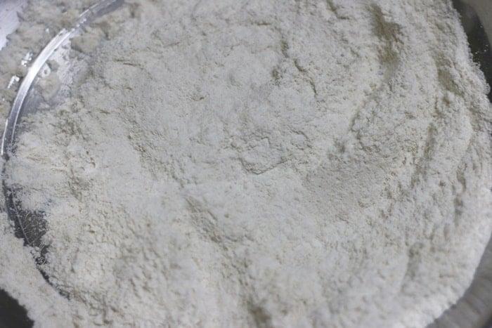 making samosa dough