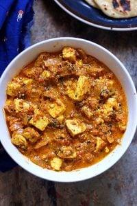 achari paneer curry
