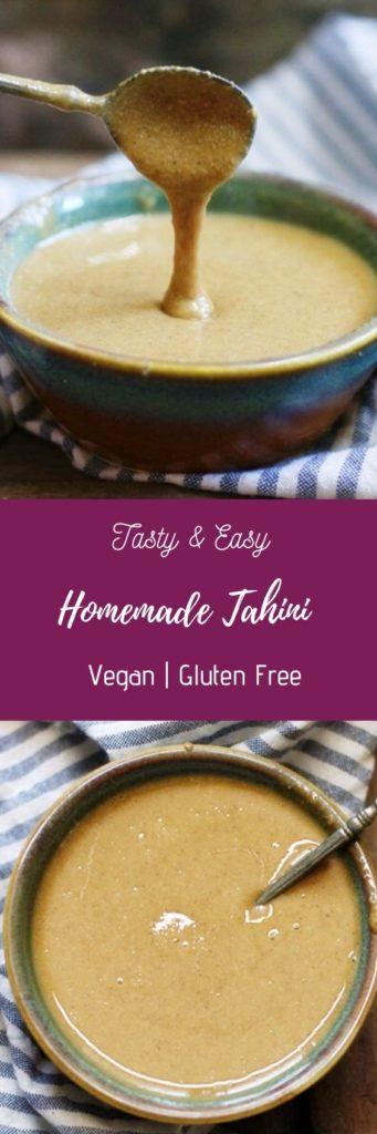 Easy tahini recipe