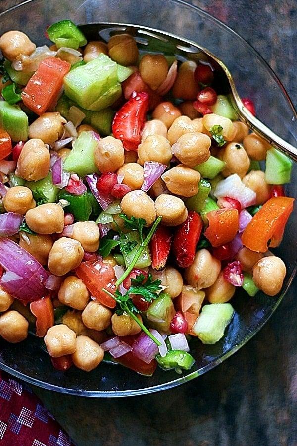 Vegan Chickpea Salad Recipe