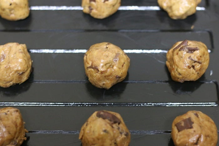 chocolate chip cookies steps