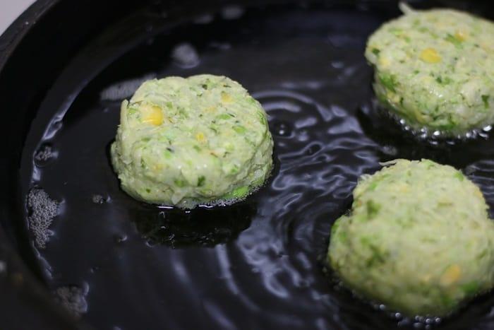 homemade potato cutlet