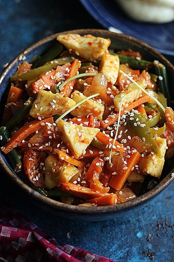 tofu stir fry recipe