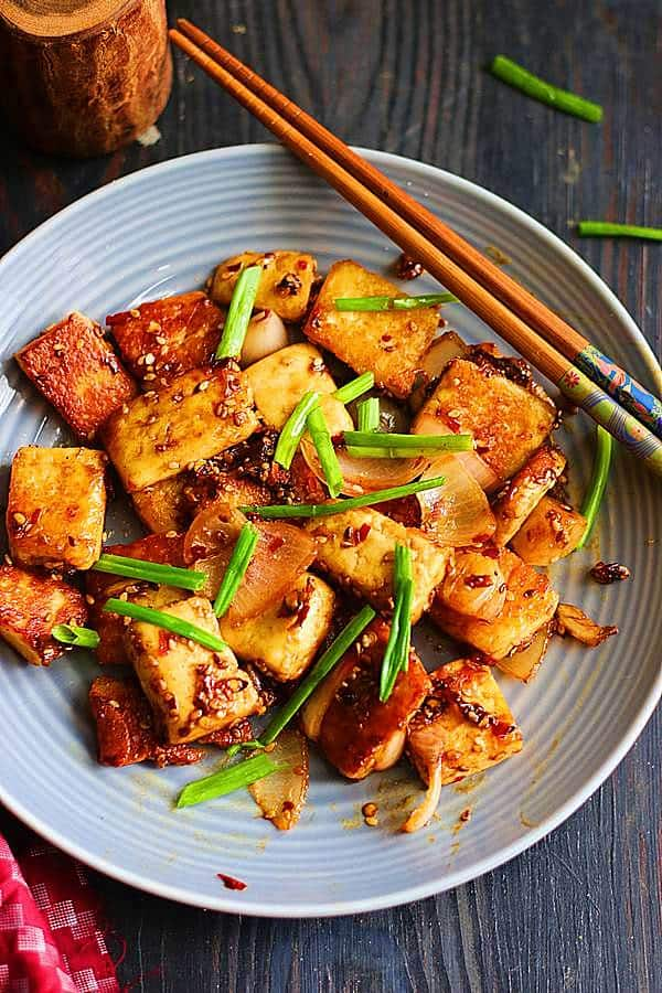 easy braised tofu recipe