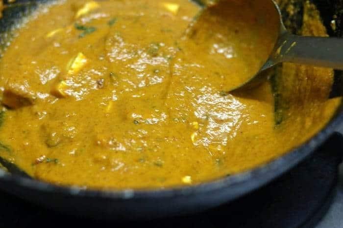 paneer butter masaa ready
