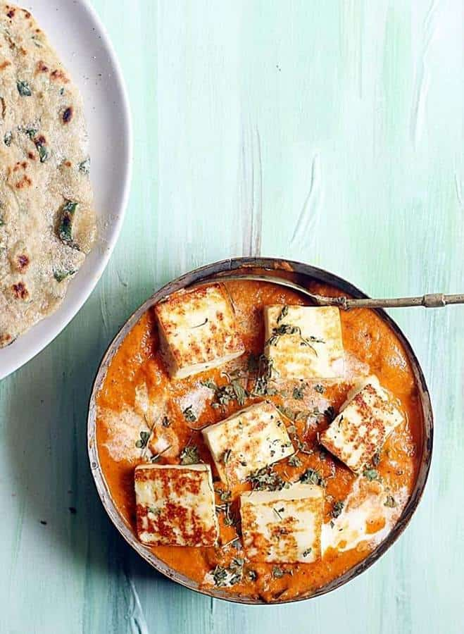 restaurant style paner butter masala recipe