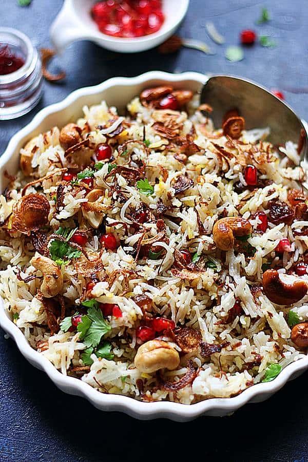 instant pot saffron rice