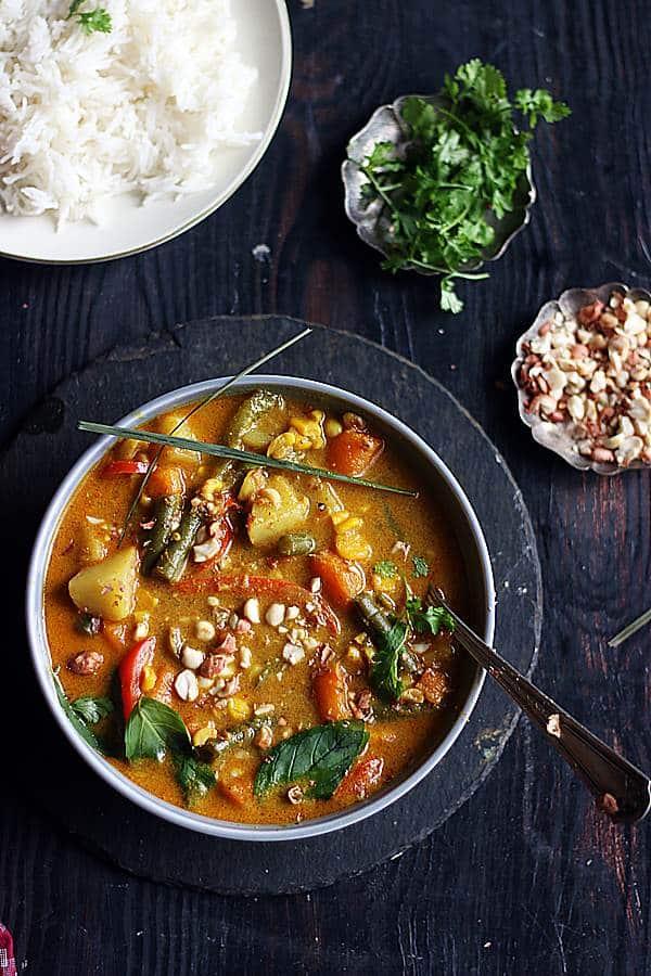 thai panag curry vegan