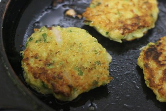 crispy homemade zucchini fritters