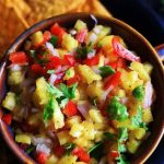 Mexican pineapple salsa
