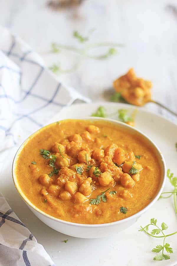 butternut squash or pumpkin curry