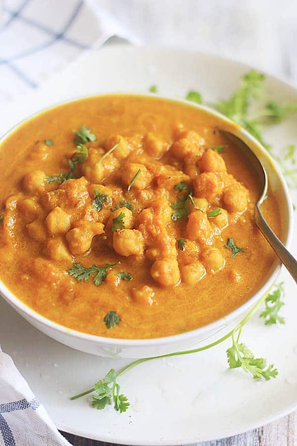 easy vegan pumpkin curry