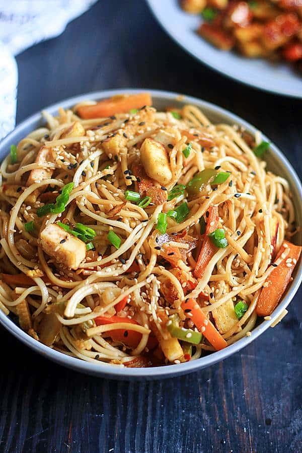 easy soba sesame noodles