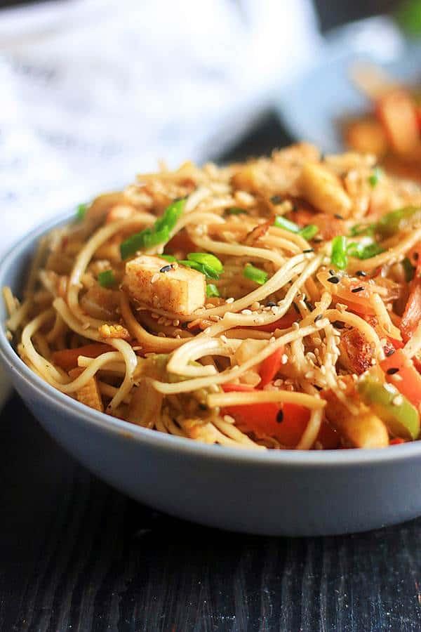 sesame noodles stir fry