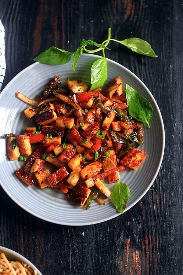 thai vegan stir fry