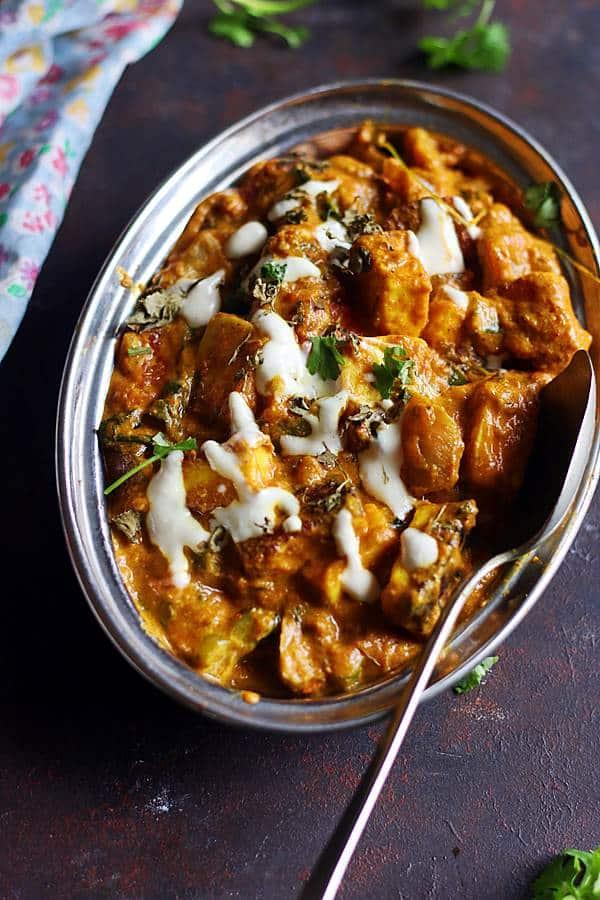 tofu tikka masala ready to serve