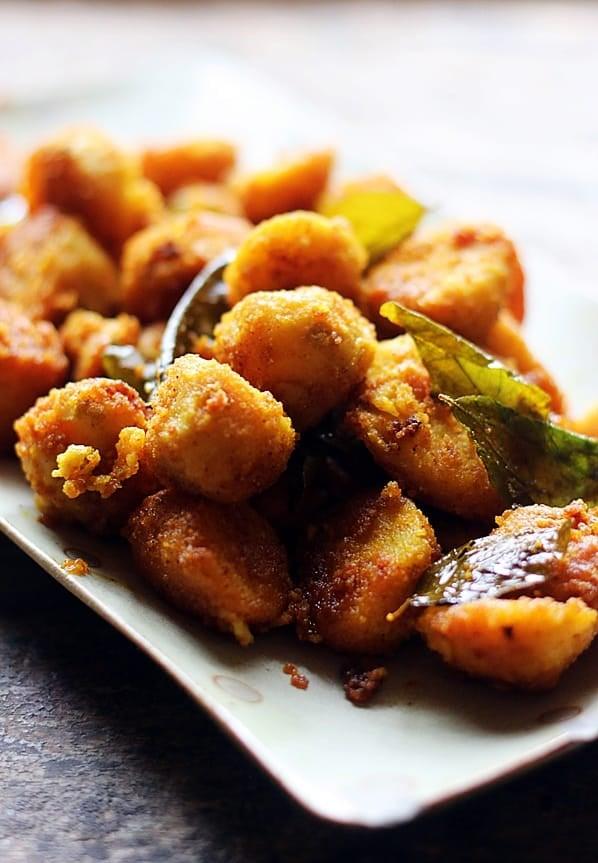crispy seppankizhangu fry