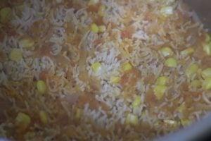 cooked spanish rice