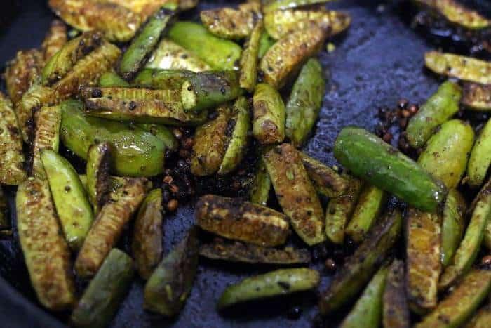 easy kovakkai fry recipe