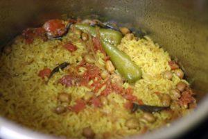 instant pot masala khichdi ready