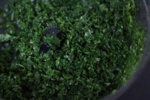 minced methi leaves