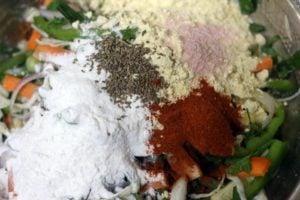 ingredients for pakora recipe