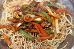 making chinese bhel